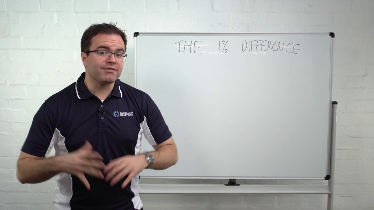 Whiteboard Wednesday 007 - The 1% Difference - Master Your Money Now